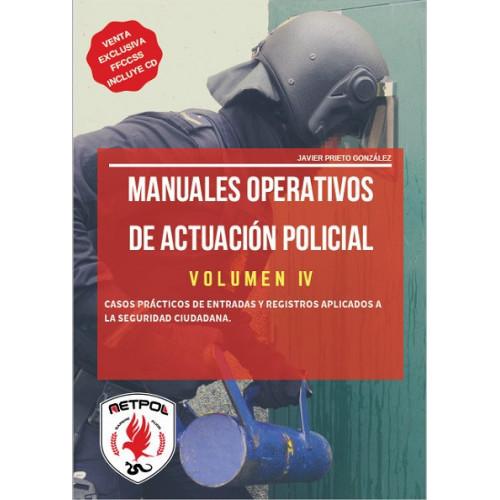 Volumen IV - Manual Operativo de Actuación Policial