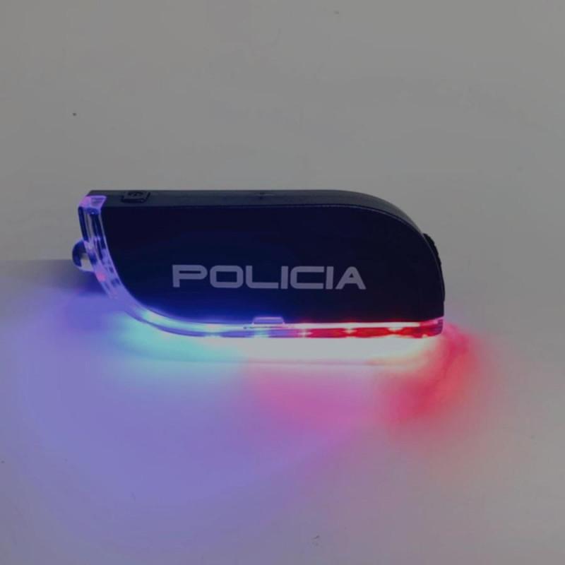 Linterna policial multifunción