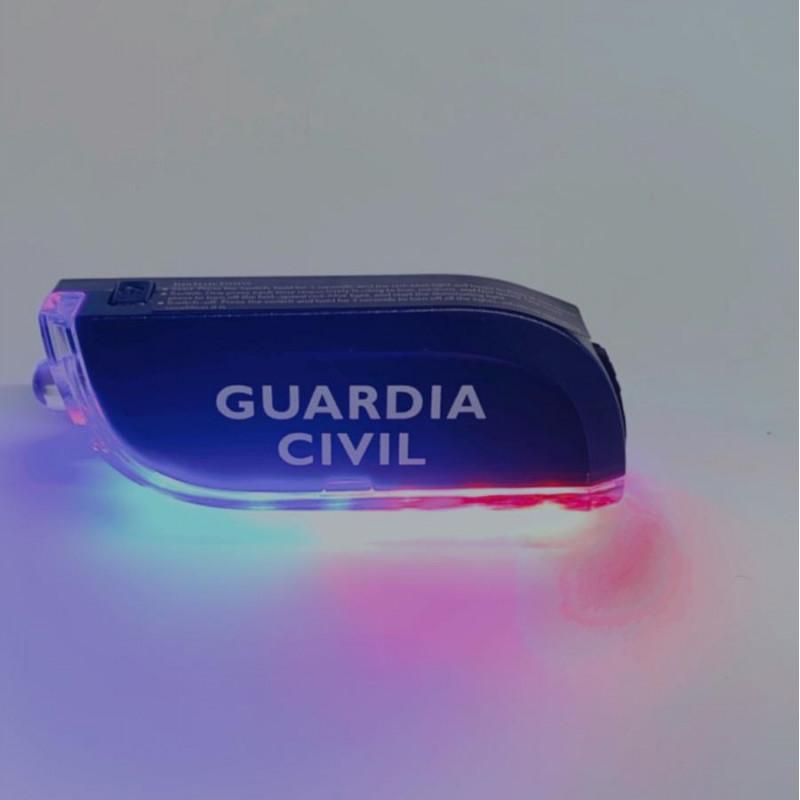 "Lanzadestellos Personal Portatil + Linterna ""GUARDIA CIVIL"""