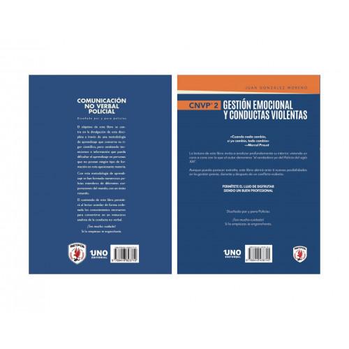Pack manuales Comunicación No Verbal Policial + Gestión Emocional y Conductas Violentas